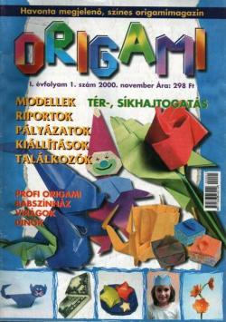 Origami kéz csoda I. évfolyam 1. szám 2000 november