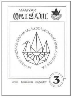 Magyar Origami Kör 1993/3 magazinja
