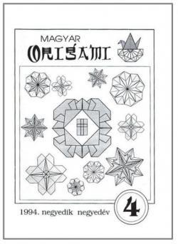 Magyar Origami Kör 1994/4 magazinja