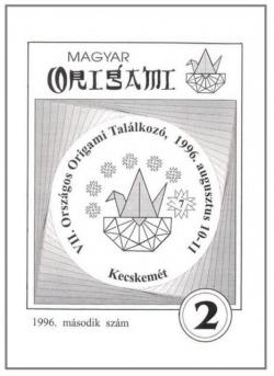 Magyar Origami Kör 1996/2 magazinja