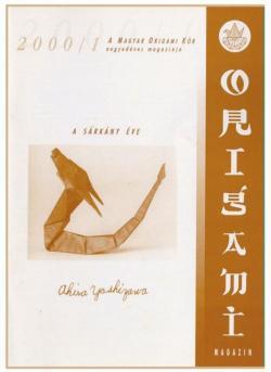 Magyar Origami Kör 2000/1 magazinja