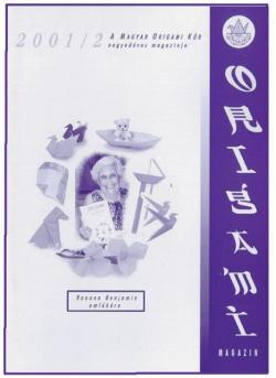 Magyar Origami Kör 2001/2 magazinja