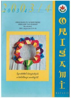 Magyar Origami Kör 2003/4 magazinja