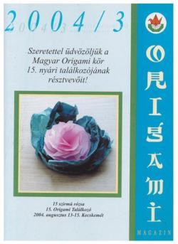 Magyar Origami Kör 2004/3 magazinja