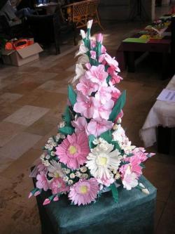 Ácsné Dóczi Éva origami kiállítása Várdán