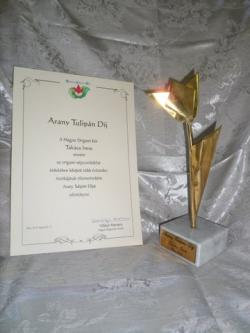 Arany tulipán díj