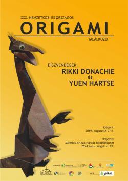 30. Nemzetközi és Országos Origami Találkozó - 2019. Pécs