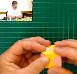 Online origami oktatás - Sonobe modul
