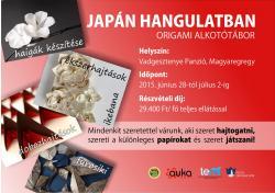 Origami alkotótábor japán hangulatban - 2015 Magyaregregy