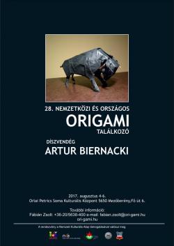 28. Nemzetközi és Országos Origami Találkozó - 2017 Mezőberény