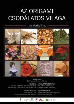 Az origami csodálatos világa vándorkiállítás - Kisvárda