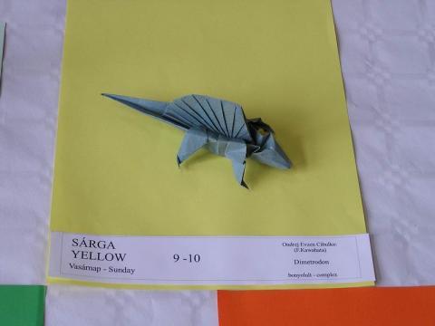 Ondrej Evzen Cibulka (F. Kawahata): Dimetrodon