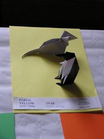 Egér, pingvin