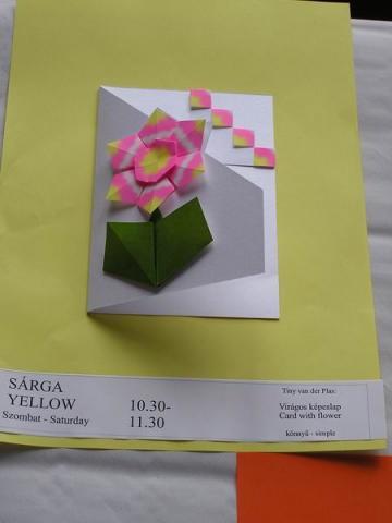 Tiny van der Plas: Virágos képeslap