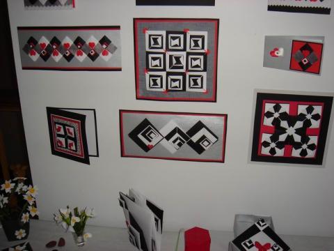 Ela Udziela kiállításának részlete