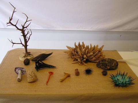 Vincent Floderer kiállításának részlete