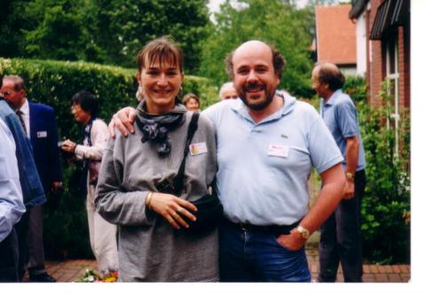 Torbavecz Csilla és David Brill