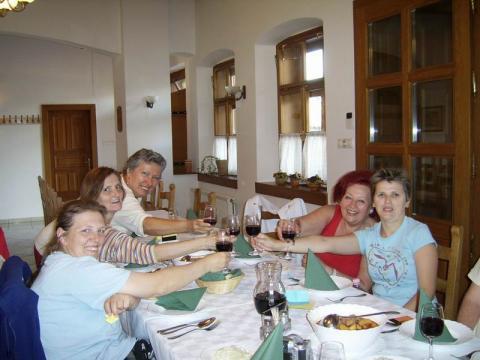 Vacsora a Mészáros tanyán