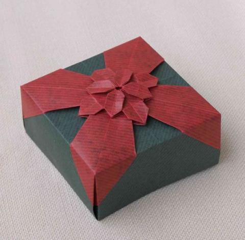 Somos Endre: Coloured Masu Box