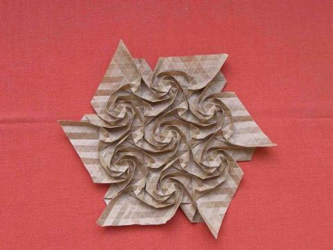 Joel Cooper: Swirly Star Tesszaláció