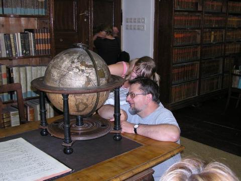 Látogatás a Klimo könyvtárban