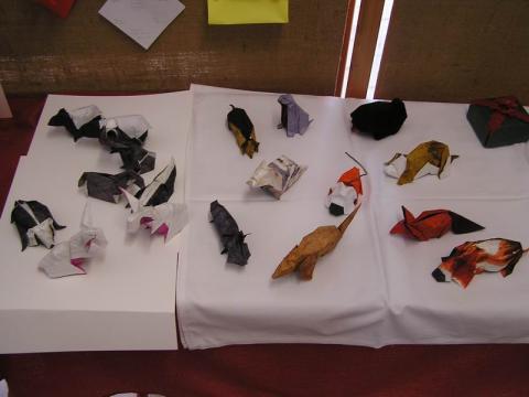 Sebők Zsolt díjnyertes állatfigurái