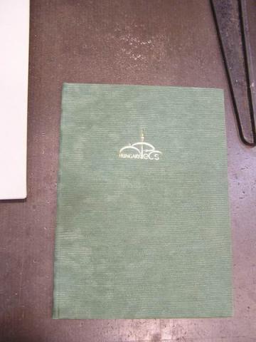 Könyvkötészeti bemutató