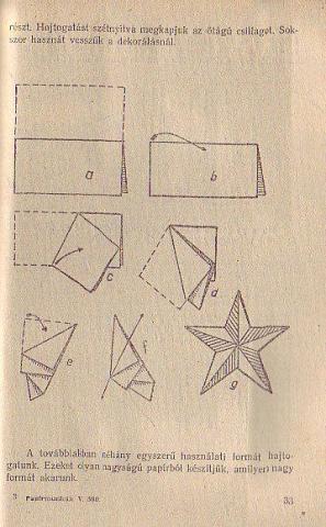 Papírmunkák című kiadvány belseje