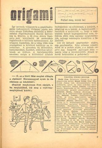 A Tábortűz című újság belseje