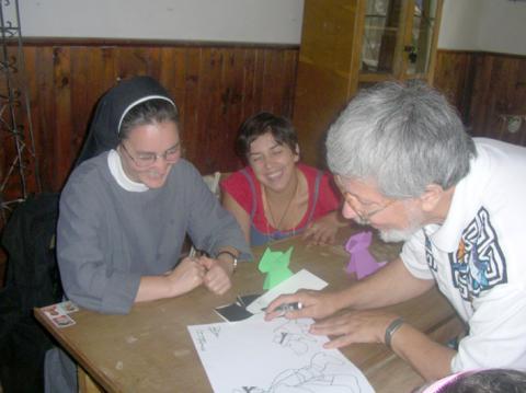 Erzsebet nővér és Jocó bácsi
