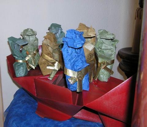 A hét istenség, a 7 szerencseisten