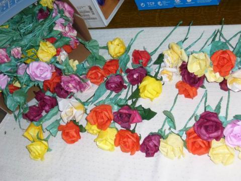 A végzősöknek szánt virágok 2007-ben