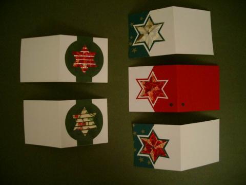Somogyi Mariann: Karácsonyi ajándék-kísérő kártyák