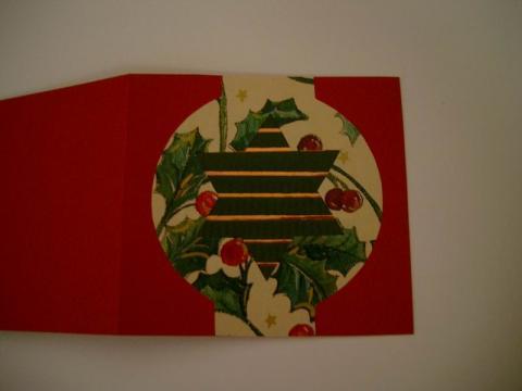 Somogyi Mariann: Karácsonyi ajándék-kísérő kártya