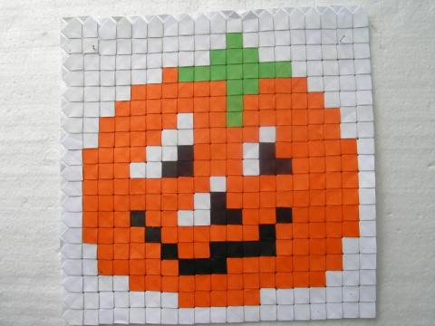 Györfi-Deák György: Halloween tök  Verrill-modulból