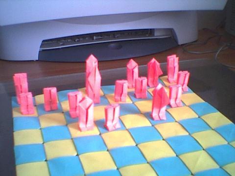 Györfi-Deák György: Elemes sakktábla