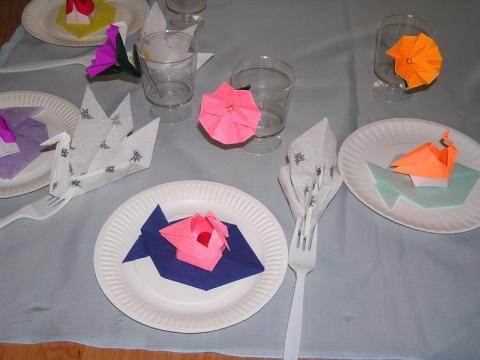 Az ünnepi  asztal