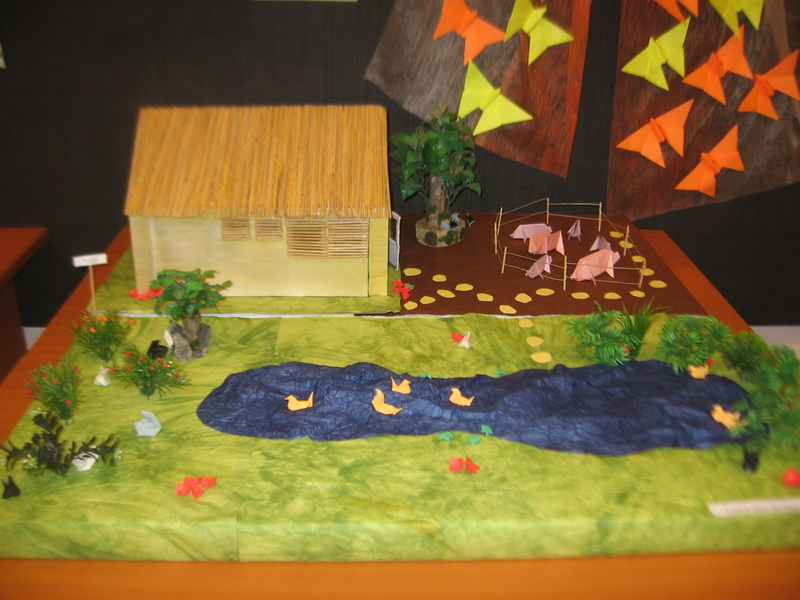 Ház és udvar
