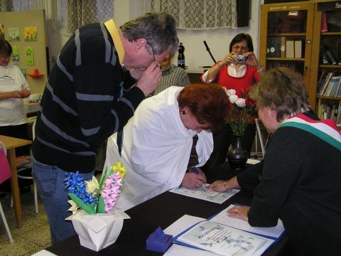 Az aláírás