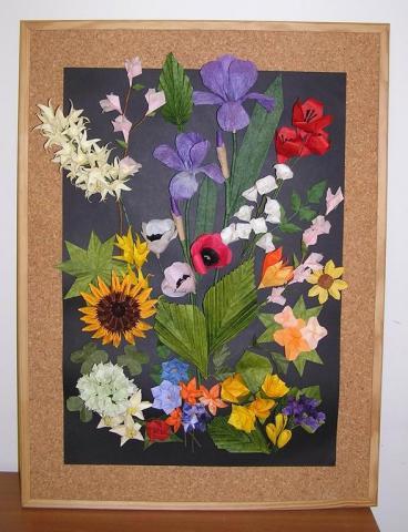 Virágos kép