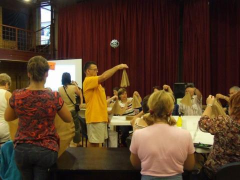Paul Hassendorfer kapalot tanít