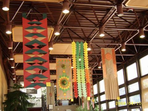 Részlet a 2008-as Origami zászlók pályázatra érkezett munkákból
